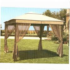 Garden Winds Pergola by Gazebo Replacement Screen 10x10 Gazebo Ideas