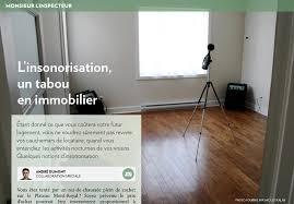 insonoriser une chambre à coucher l insonorisation un tabou en immobilier la presse