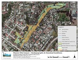 San Diego City Map by Canyon Enhancement Planning