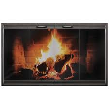 Martin Gas Fireplace by The Ez Door Steel For Majestic Fireplaces