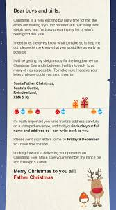 how to get a letter from santa back to your kids for the price of