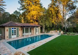 mediterranean pool house john malick u0026 associates