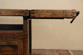 sold carpenter 1900 antique mabsey workbench kitchen island or