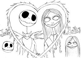coloring mesmerizing jack coloring pages skellington free