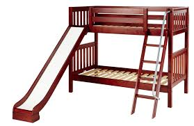Maxtrix Medium Bunk Bed W Ang Ladder And Slide TwinTwin - Maxtrix bunk bed