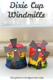 30 best kids crafts holland images on pinterest dutch windmill