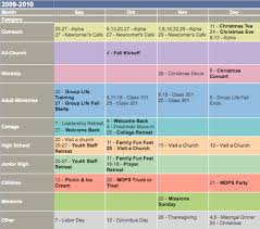 what s your plan a look at ministry calendar planning the