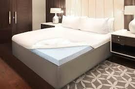 size memory foam mattress topper