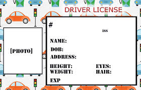 drivers license template madinbelgrade