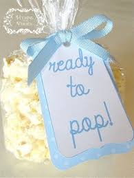 baby shower favors to make ready to pop popcorn favors for a baby shower and easy