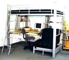 Bunk Bed Computer Desk Bunk Beds With Desk Katecaudillo Me