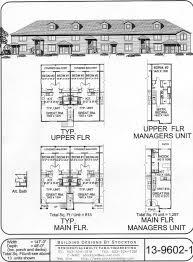 narrow plan right side plan apartment house plan ideas pinterest
