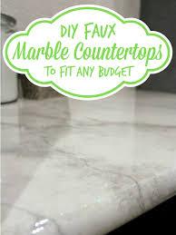 remodelaholic 30 diy faux marble countertops