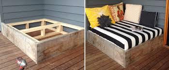 moderne terrassengestaltung coole lounge möbel im außenbereich