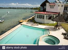 mauritius mahebourg chillpill guest house and swimming pool on