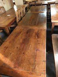antique harvest table for sale exceptionally rare harvest antique table two oak identical tables