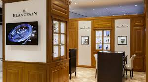 Shop In Shop Interior by Blancpain Inaugurates