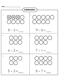 subtraction basic subtraction worksheets free free math