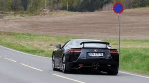lexus lfa crash stavanger norway authorities remove speed bump after lexus lfa