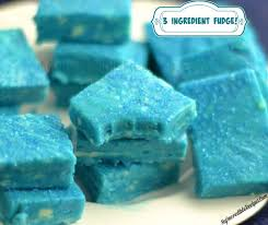 3 ingredient fudge u2013 make any color
