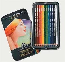 prismacolor pencils prismacolor colored pencils 12 pack tin