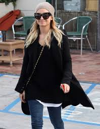 nicole richie leaving planet nails in west hollywood zimbio