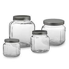Bathroom Jars With Lids Anchor Hocking Bed Bath U0026 Beyond
