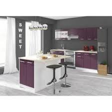 meuble plan de travail cuisine meuble bas 120cm avec plan de travail achat vente pas cher