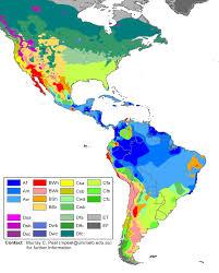 Radon Map Usa by Klimaatzones Op Het Continent Zuid Amerika Komen De Volgende
