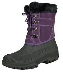womens thermal boots uk womens winter moon boots warm fur thermal ski apres