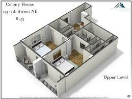 floor plan with perspective house colony 435 metro atlanta real estate specialist
