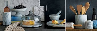 Kitchen Table Accessories by Marble Kitchen Accessories Crate And Barrel