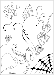 zentangle simple by 3 zentangle coloring pages for