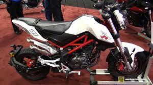 benelli motorcycle 2017 benelli tnt 135 walkaround 2016 aimexpo orlando youtube