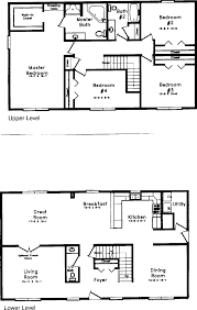 5 Level Split Floor Plans 100 Split Level House Plan 100 Split Level House Design Top