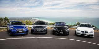 bmw vs audi race bmw 330i vs jaguar xe 25t vs lexus is200t f sport vs mercedes