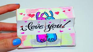 diy valentine u0027s day gifts ideas magic cube transformer easy