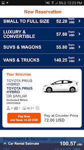 Car Rental Estimate by Budget Car Rental Android Apps On Play