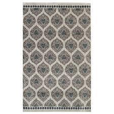 nylon area rugs shop mohawk home bethania blue rectangular indoor tufted area rug