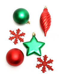 ornaments free stock photo red and green christmas ornaments