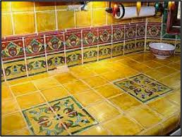 mexican tile kitchen ideas ideas for using mexican tile in your kitchen or bath countertop
