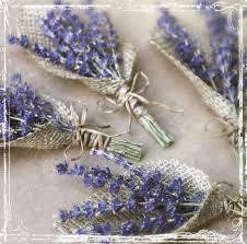 burlap boutonniere lavender and burlap boutonniere herb weddings european