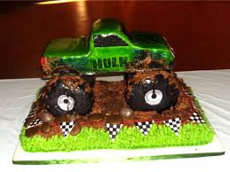childrens monster truck videos cakes the hulk monster truck cakecentral com