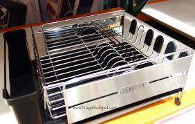 Convection Toaster Oven Costco Sabatier Stainless Steel Expandable Dish Rack Costco