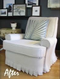 white recliner slipcover foter