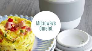 ceramic egg dish omelet with the ceramic egg cooker pered chef
