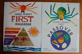 passover book haggadah discovering passover and haggadah with sammy spider rhymes and