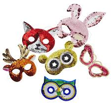 masks for kids kids assorted sequin masks by frolic and cheer