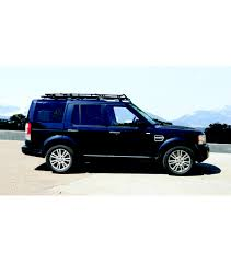 range rover icon land rover lr 4 stealth rack multi light setup with sunroof