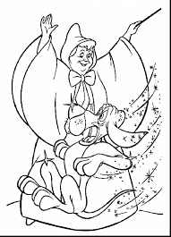 outstanding cinderella wedding coloring pages with cinderella